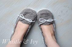 DIY: women's boat slippers