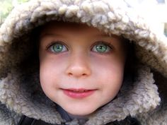This kid is just so cute...what gorgeous huge eyes!!!
