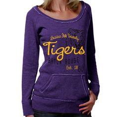 LSU sweater