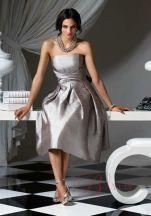 Bridesmaid dresse Hot Sale Bustier en Satin B9834
