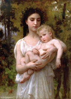 Theyoungerbrother - William-Adolphe Bouguereau