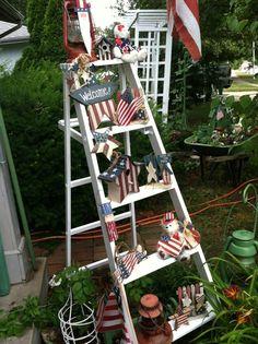 My 4th of July Ladder