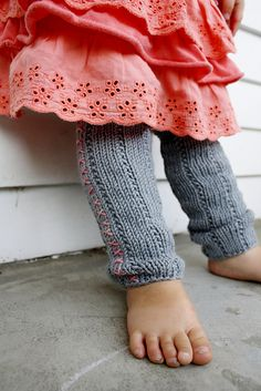 Ravelry: Cross Stitch Baby Legwarmers pattern by Théa Rosenburg Free