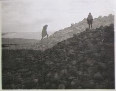 Viking burial mounds