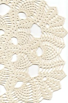 Crochet doily, lace doily, table decoration, crocheted place mat, center piece,doily tablecloth, weddings, napkin, cream, handmade doilies via Etsy