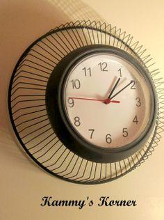 Kammy's Korner: Industrial Clock From A Fan