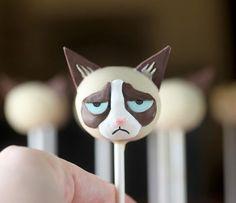 Pirulito de Grumpy Cat