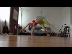Yoga in your living room - amazing video.