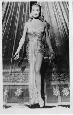 Lana Turner in The Prodigal 1955