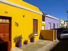 Houses in Capetown - South Africa #house #colors #africa