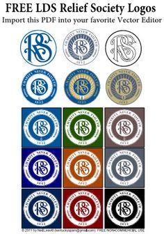 Free Relief Society Logos/Clipart societi logo