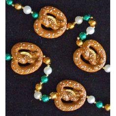 Pretzel Octoberfest Pretzels Mardi Gras Beads