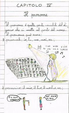 La grammatica a fumetti: il pronome. - Didattica Scuola Primaria