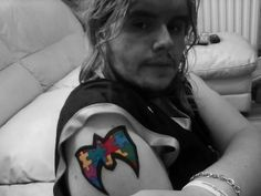 Tattoos Autism RelatedUltimate Warrior Symbol Tattoo