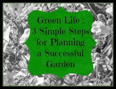 Great tips for planning your garden.  #garden