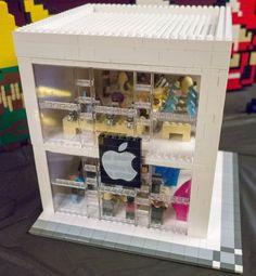 Lego Apple Store is a stroke of blocky genius
