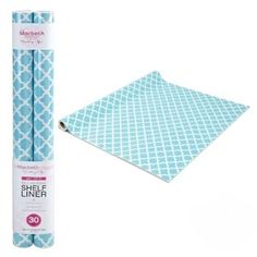 Amazon.com: Self Adhesive Shelf Liner - Aqua Designer: Home & Kitchen