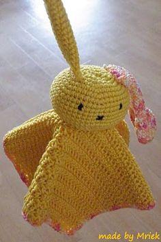 Snoezel, a combination of crochet and amigurumi.