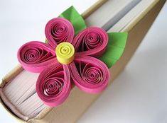 Quilled Flower Bookmark Tutorial - Splitcoaststampers