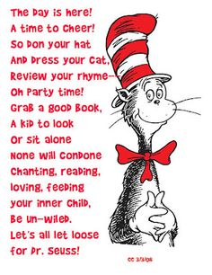 Dr. Seuss style poem about Theodore Geisel (aka Dr. Seuss)