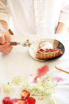 vegan and gluten free strawberry pie