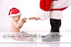 Wonder if I could get a pic of Lil Miss with Santa this way?!?