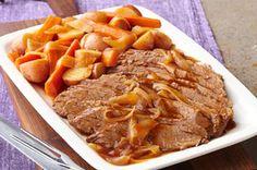 Slow-Cooker Barbecue Beef Brisket recipe