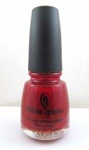China Glaze Power of Red Nail Polish CGX224