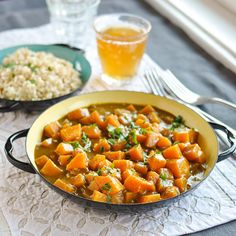 Butternut Squash & Coconut Curry