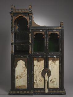 Cabinet - Carlo Bugatti, 1895 - The Cleveland Museum of Art