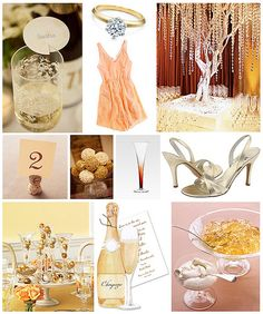 Champagne Themed Party