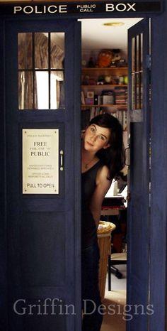 TARDIS doors.(: