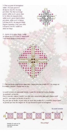 Pattern for bracelet Asteride by Yelona | Beads Magic