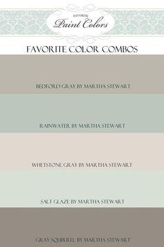Paint Color Combinations - Favorite Paint Colors