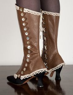 leather spats
