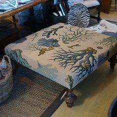 Beach Ottoman Table