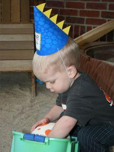 dinosaur party hat