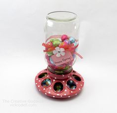 Chick Feeder Candy Dish for Spring