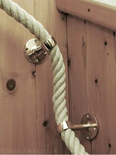 Hemp Rope, corner detail