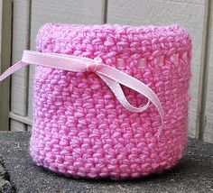 For the little Princess!  Basket:  Handmade Basket Crochet Basket Bowl by HandmadeByAnnabelle