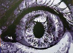 monochromatic painting - value