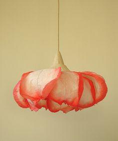 paper lamp by Sachie Muramatsu