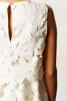 Layered Lace Tank via #Anthropologie