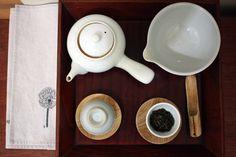 Korean tea set