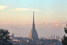Mole in the evening by vlad-m.deviantart.com on @deviantART #Torino #panorami