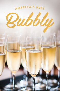 Drink some great Bubbly in America!