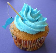 fishy cupcakes cupcak, baby boy shower, father day, baby boys, fishing birthday, themed cakes, fishing poles, gone fishing, themed parties