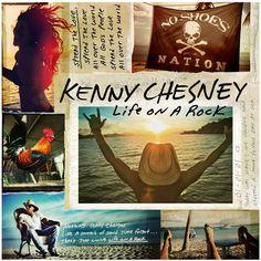 "Kenny Chesney ""Live On A Rock."""