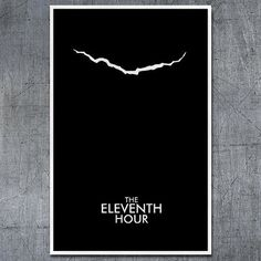 Doctor Who Poster The Eleventh Hour  11x17 by ModernStylographer, $17.00