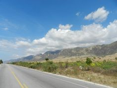 on the road in haiti
